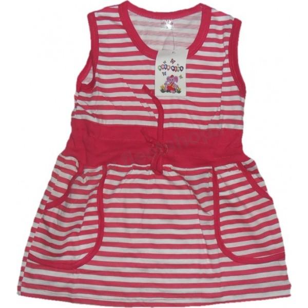 Платье из кулирки для девочек